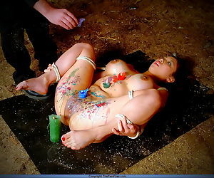 Japanese hotwax subjugation of harrowing asian concomitant non-specific tigerr juggs - part 4087