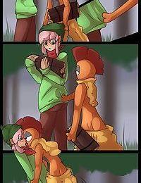 Pokemon- Gathering Firewood