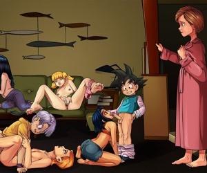Around Hentai- Sleepover Blitzkrieg