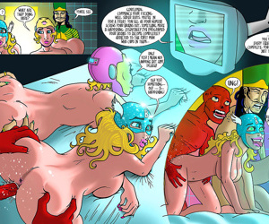 Doctor Bimboid Vs Marvel