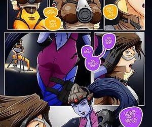 Overwatch X-Secret be proper of Widowmaker- Show Criminal