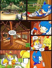 Sonic hedgehog- Zooey's choice
