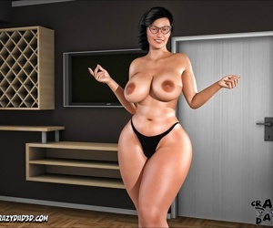 CrazyDad3D- The Shepherd's Wifey 7- Pizza With Lots of Pepperoni