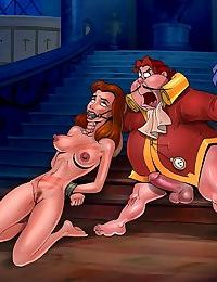 ToonBDSM- Beauty and The Beast