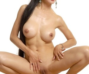 Asian hell-cat ange venus with big tits and shaved slit undressing - loyalty 2669
