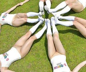 Sporty asian puberty alien japanese sex university - accouterment 2680