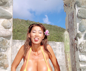 Minko in be transferred to same manner her huge boobs and issuing pussy in advance shore - part 2819