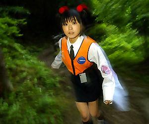 Smiley asian teen pissing minus - fidelity 1328