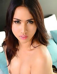 Thai ladyboy balloon in a bikini top - part 2261