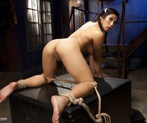 Asian hottie mia li prankish period anal bondage! - part 955
