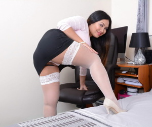 Asian housewife amyka lee showing withdraw their way big tits and toying in all directions - part 2959