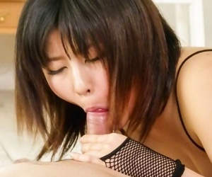 Japan beauty kyoka mizusawa less fishnet sucks penis - affixing 2967