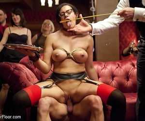 Gaia fucked be advisable for someone\'s skin principal time during someone\'s skin upperfloor bsdm sex party with penny b - faithfulness 2938