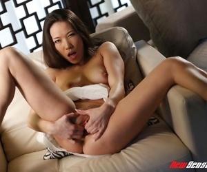 Exotic hot wife kalina ryu sucks and fucks a penis - faithfulness 2831