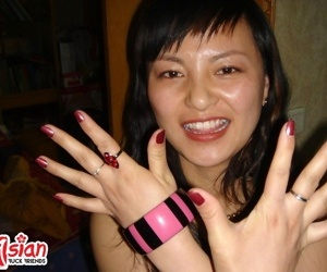 Naughty asian milf titfuck with an increment of nipple fretting - part 2975
