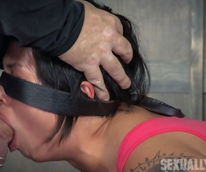 Hot asain realize fucked from both ends, squirts and cums renounce and over. brutal face - part 2981