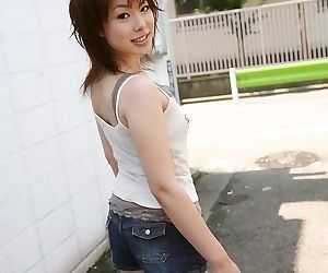 Asian idol mina manabe shows the brush breast plus pussy - fastening 2331