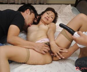 Erika hiramatsu on every side a hot triune - part 2650
