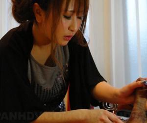 Yuki maya blows a extensive meat bar-room - attaching 2783
