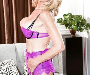 Aged blonde coddle kendall rex jeopardy big tits far stockings plus brazen heels - part 1352
