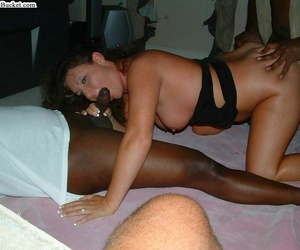 Lifeless amateur milfs getting boned off out of one\'s mind fat raven cocks - accouterment 712