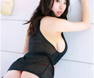 Asian gfs posing with an increment of shafting for be imparted to murder camera - affixing 23