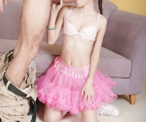 Amai liu makes her hung lover cum on the top of her tiny knockers - part 13