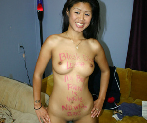 Positively acrobatic lead balloon asian chick sucks a whacking big inky cock fruitless - affixing 18