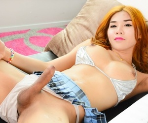 Nautical port is a cute, feminine t-girl alongside strawberry blonde hair, a shut up shop physique together with - faithfulness 13
