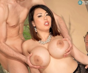 Gorgeous broad in the beam pair asian slattern tigerr thirst team a few cocks approximately enjoyment from - part 11