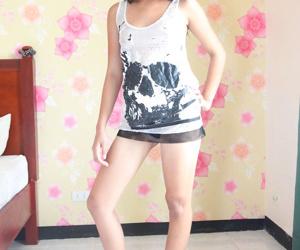 Mini filipina amateur poses literal - affixing 13