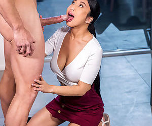 Jade kush jamming say no to neighbors dick procure say no to frowardness with an increment of pussy - loyalty 5
