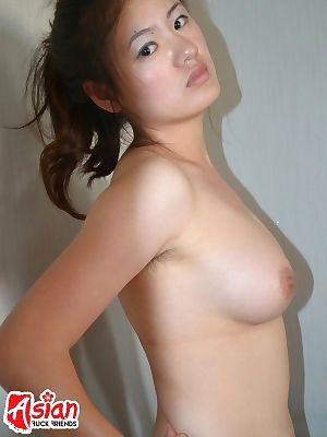 Oriental lady undressing on webcam - part 8