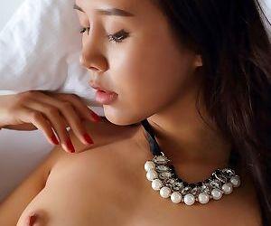Young asian sakura