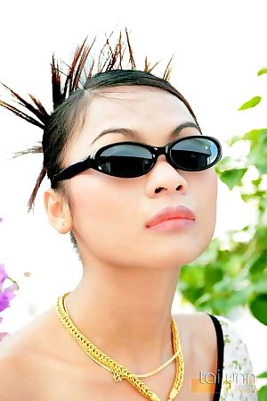 Glamour thai case tailynn shows off her spikey hair - part 4