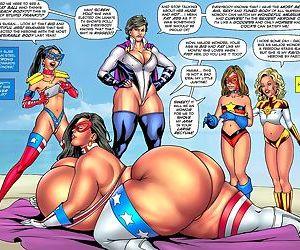 Superheroinecomixxx- Major Wonder Beach Body