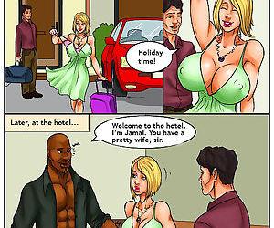 Interracial- Cheating Big Tit Slut Wife