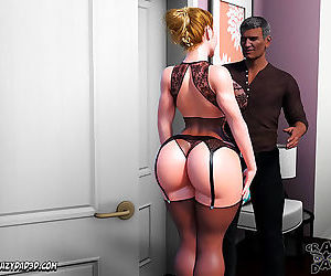 CrazyDad3D- Father In Law At Home