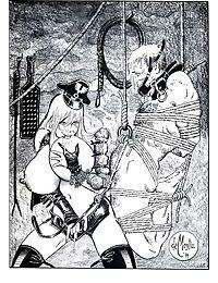 Two chicks tortured in wild bdsm comix - part 1728