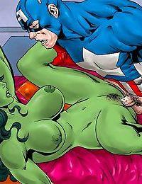Batgirl fucks with good and evil guys - part 1329