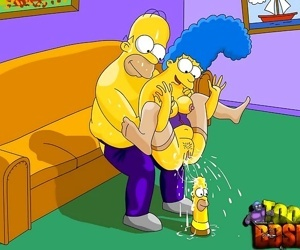 Simpsons enhance their sex life with bdsm - part 3874