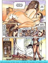 Sexy hooker with fuckable ass in sex comics - part 1859