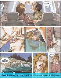 Girls sharing cock in the hottest sex comics - part 2145