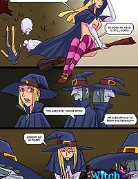 Vaginal interrogation of a witch - part 1308