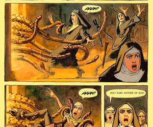 Some nuns seem to harbor secret lusts for each other - part 1080