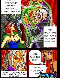 The king of frost fucks hot witch - part 1476