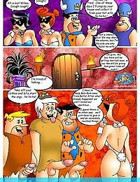 Flintstones orgy - part 1630