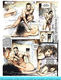 Girls sharing cock in the hottest sex comics - part 2038