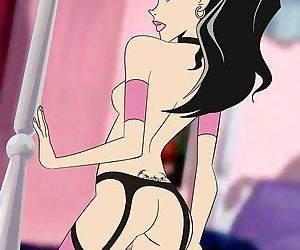 Cool threesomes and solos of sexy cartoon babes - part 3857