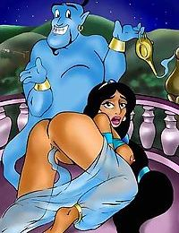 Jasmine porn cartoons - part 2663